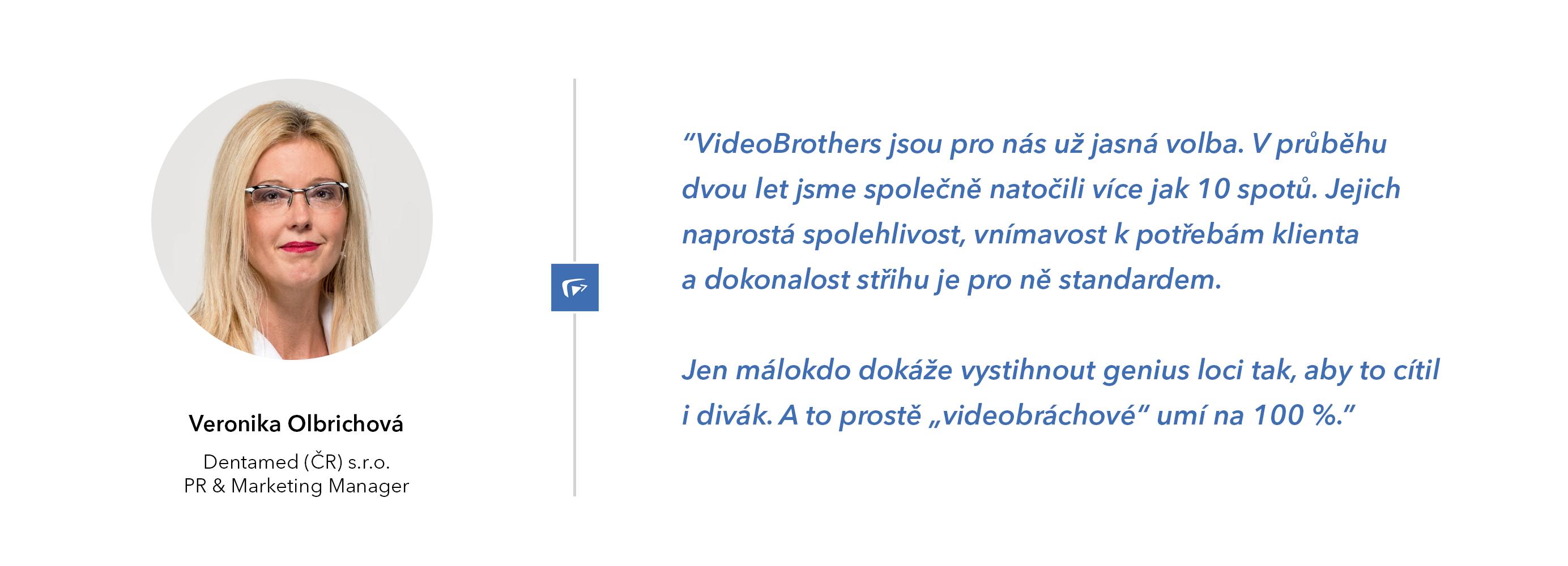 Dentamed doporučuje VideoBrothers