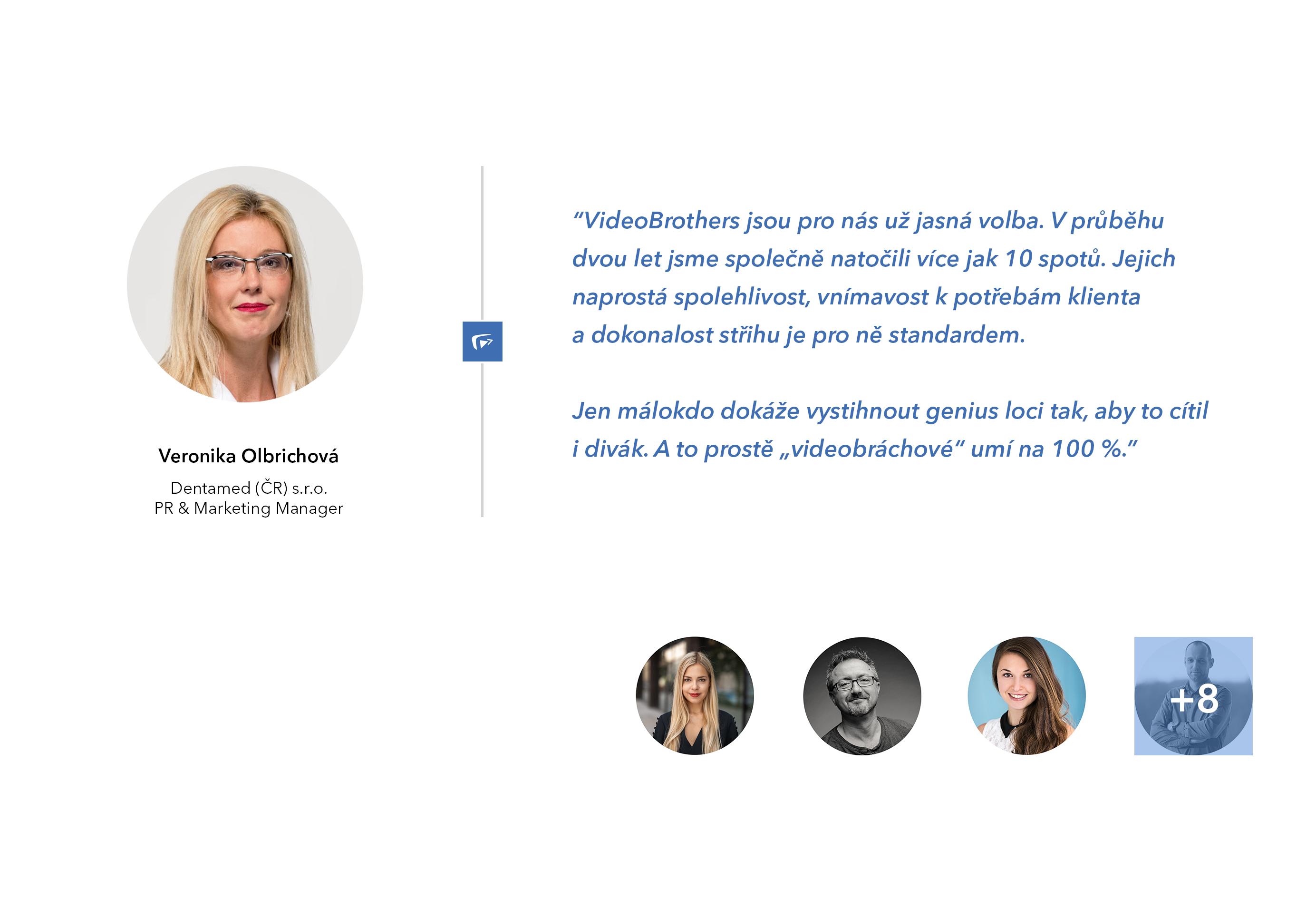Reference od klientů VideoBrothers - zkušenosti a osobní doporučení