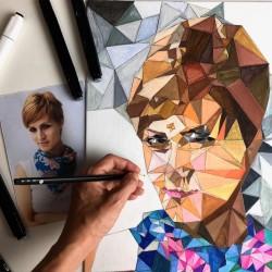 Mii Paintings autoportrét